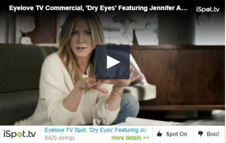 Jennifer Aniston dry eye video, Eye Doctor, Spring, TX